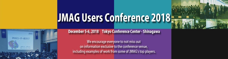 JMAG User Conference 2018